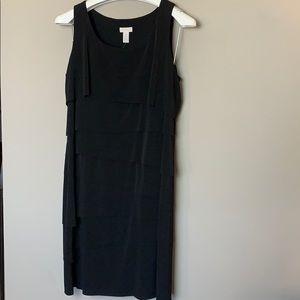 NWT-Black Chico's Jill Layer Dress